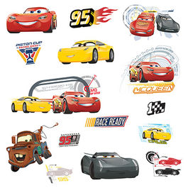 ROOM - Pegatinas Decorativas Cars 3