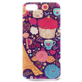 iParole - Carcasa TPU Coffee iPhone 5