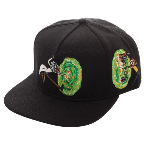 Gorra Rick & Morty Portal