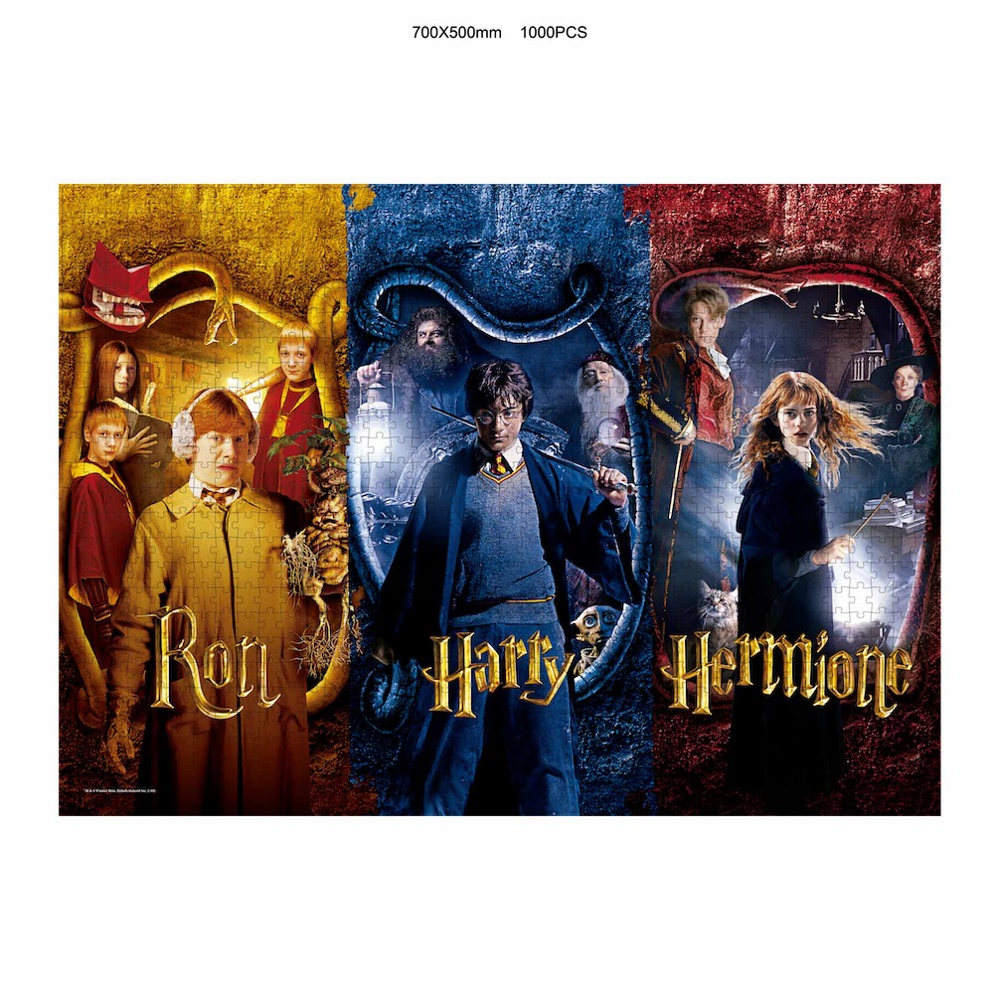 Puzzle Harry Potter Ron, Harry y Hermione