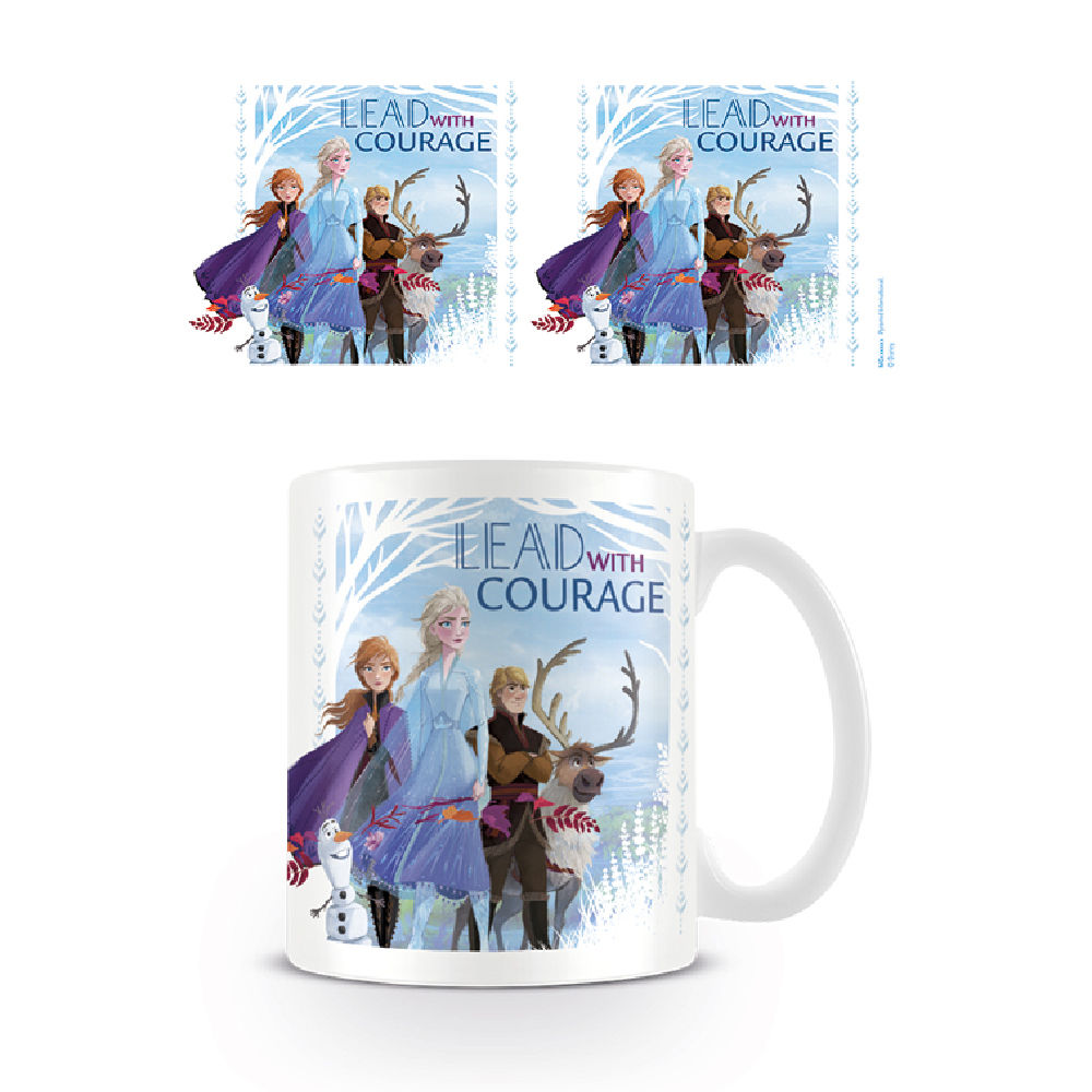 PYR - Taza Desayuno Lead with Courage Frozen II