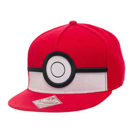 BIO - Gorra Pokemon - Pokeball 3D Color Rojo
