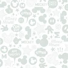 Papel pintado Mickey Mouse
