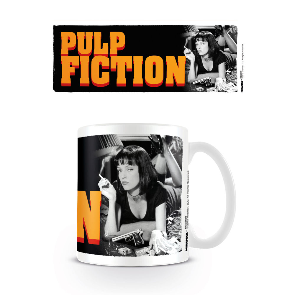 Taza Pulp Fiction Mia Wallace