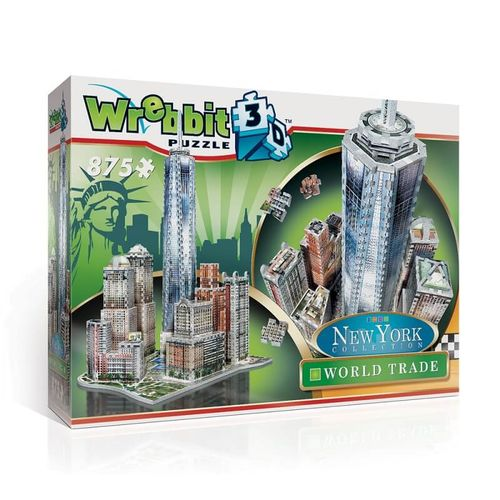 WRB - Puzzle 3D World Trade NY (875 piezas)