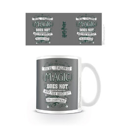 Taza desayuno Harry Potter Wands Out