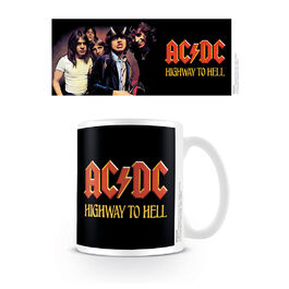 Taza desayuno AC/DC Highway To Hell