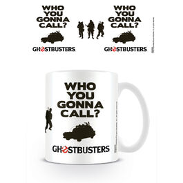 Taza desayuno Ghostbusters Who You Gonna Call