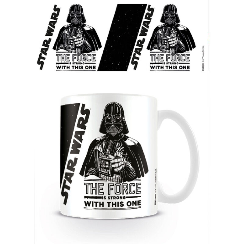 Taza desayuno Star Wars The Force is Strong