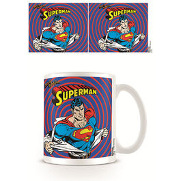 Taza desayuno Superman This is job for