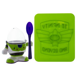 PAL - Set de Huevera + Cuchara Buzz Lightyear