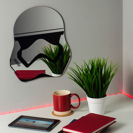 PAL - Espejo de pared casco Trooper
