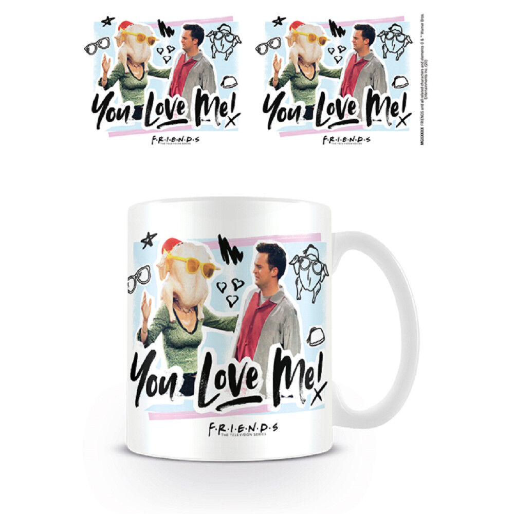 Taza de desayuno Friends You Love Me