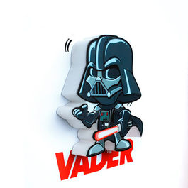 3DLIGHTFX - Mini Lámpara SW  Infantil Darth Vader