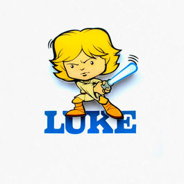 3DLIGHTFX - Mini Lámpara SW  Infantil Luke