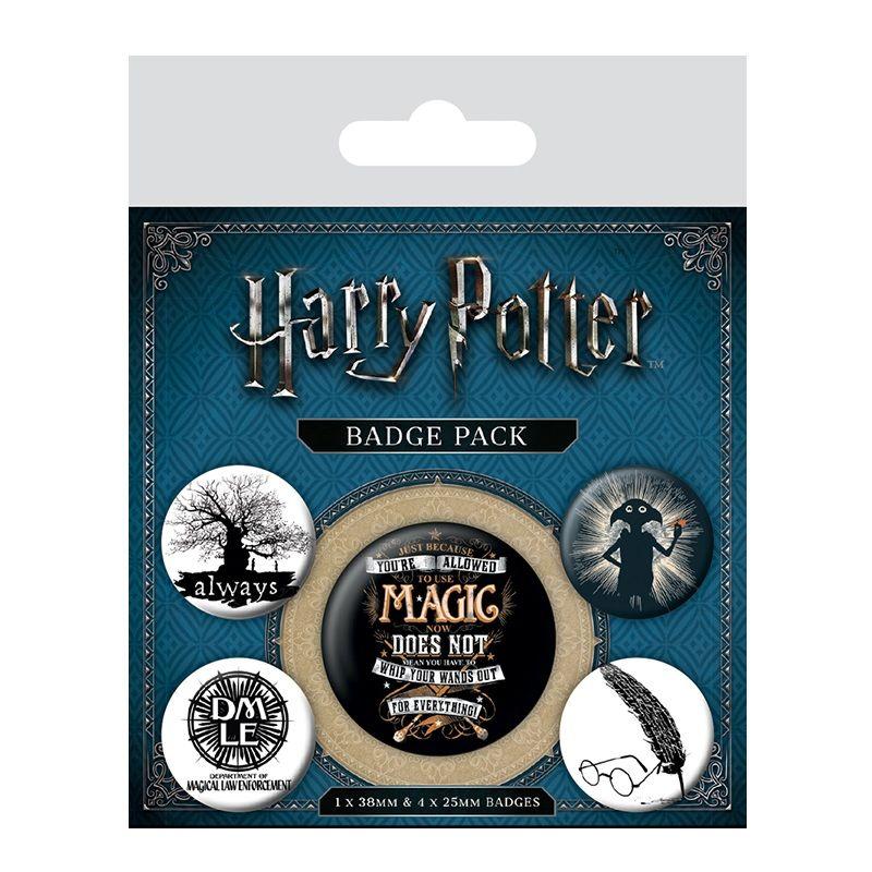 Badge Pack Harry Potter Symbols Redstring B2b