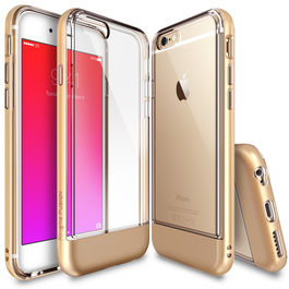 REARTH - Carcasa FUSION Borde Dorado iPhone 6