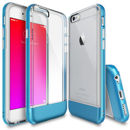 REARTH - Carcasa FUSION Borde Azul iPhone 6