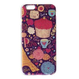 iParole - Carcasa TPU Coffee iPhone 6