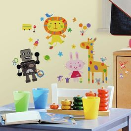 ROOM - Pegatinas Decorativas Pared Infantil Lazoo