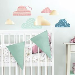 ROOM - Pegatinas Decorativas Pared Nubes