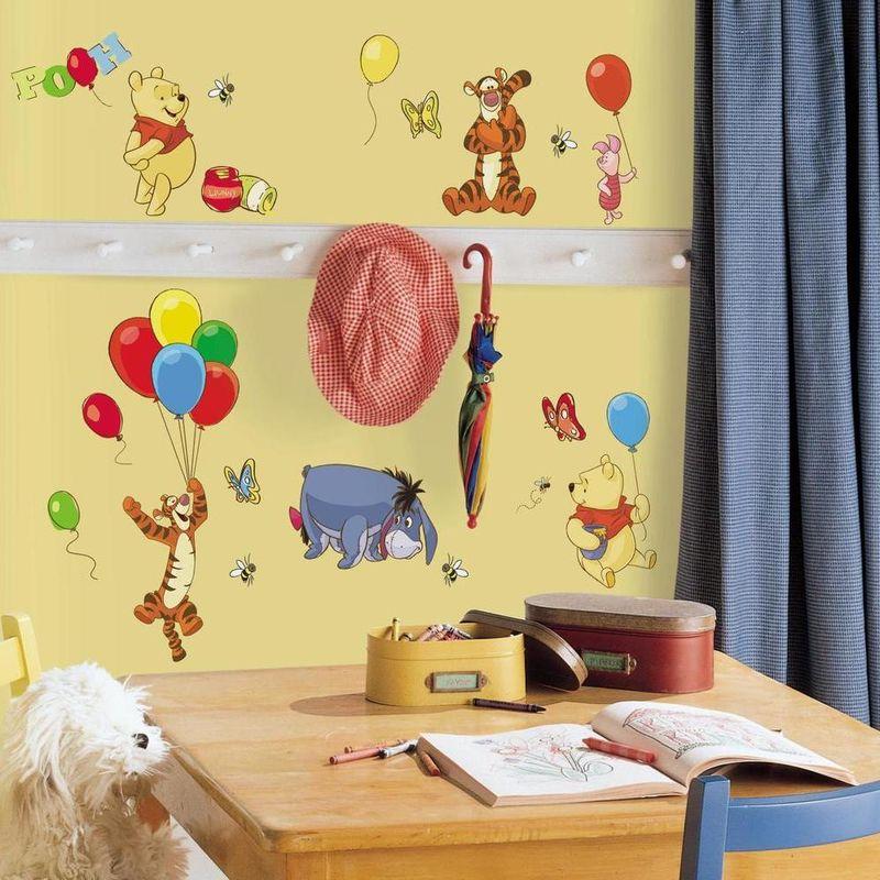 Room pegatinas decorativas pared pooh friends for Pegatinas decorativas pared
