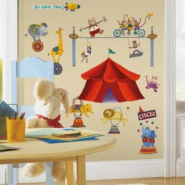 ROOM - Pegatinas Decorativas Pared Gran Circo