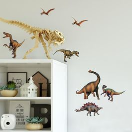 ROOM - Pegatinas Decorativas Pared Dinosaurios