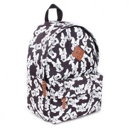 VDB - Mini Mochila Disney Minnie silueta blanca