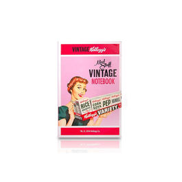 Kellogg's Vintage 50's Pink A5 Notepad