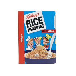 Kellogg's 1970's note book A5 - Rice krispies