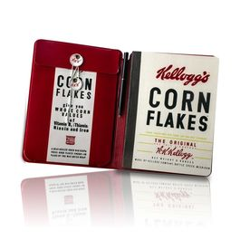 Kellogg's Classic Cornflakes Notebook and pen set