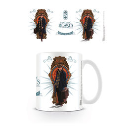 PYR - Taza Fantastic Beasts Diseño Newt Scamander, magizoologista