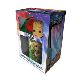PYR - Pack regalo Marvel, taza y llavero Groot