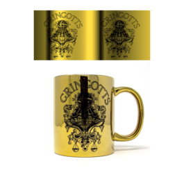 PYR - Taza Metálica Harry Potter Gringotts