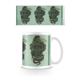 PYR - Taza Harry Potter Diseño Serpiente Slytherin