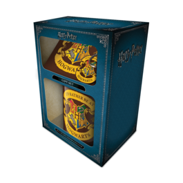 PYR - Pack Regalo Harry Potter taza y llavero Hogwarts