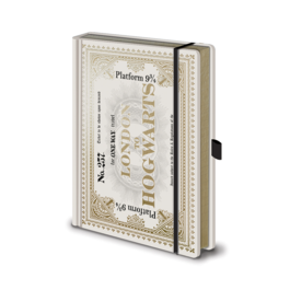 PYR - Libreta Premium Harry Potter ticket Hogwarts Express