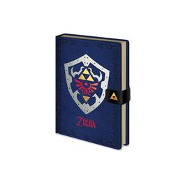 PYR - Agenda The Legend of Zelda Diseño Escudo Hyliano A5