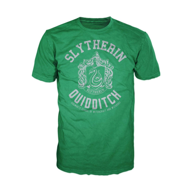 BWI - Camiseta Harry Potter Quidditch Slytherin M