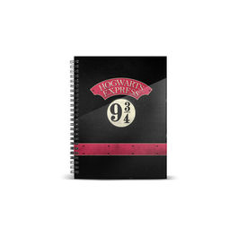 KM - Cuaderno A5 Harry Potter Hogwarts Express