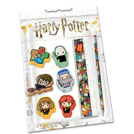 KM - Set de papelería Harry Potter Accio