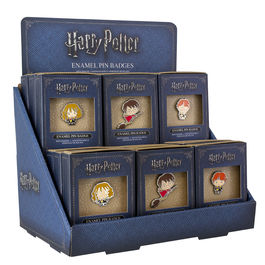 PAL - Set de 18 pines Diseño Harry Potter