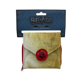 PAL - Cartera Tarjetero cremallera carta Harry