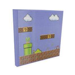 PAL - Libreta 3D Super Mario Bros efecto movimiento