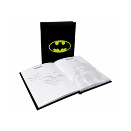 SD - Libreta DC Comics logo Batman