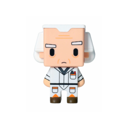 SD - Figura Pixel Regreso al Futuro Doc Brown