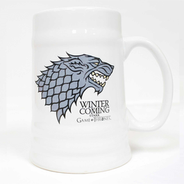 SD - Jarra cerámica casa Stark Winter is Coming
