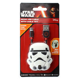 SW - Cable Micro USB Stormtrooper