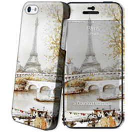 IPAINT - Carcasa + Skin - Paris Paint Iphone 5/5S